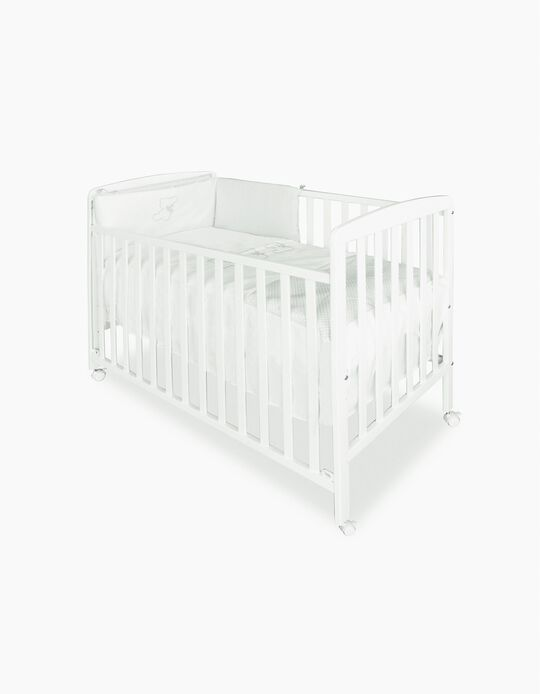 Haya Wooden Cot by Asalvo