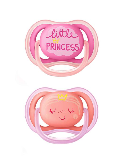 Sucette Ultra Air 6-18 Silicone Philips/Avent 2Un.
