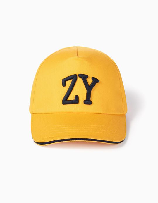 Cap for Boys 'ZY', Yellow