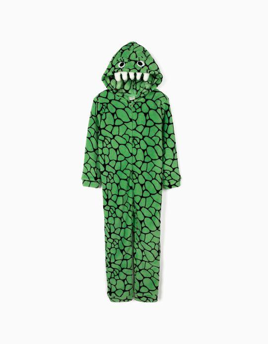 Pijama Mono 'Croc', Verde