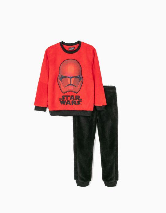 Pijama para Niño 'Star Wars', Rojo/Negro