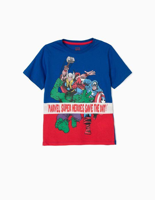 Camiseta para Niño 'Marvel', Azul