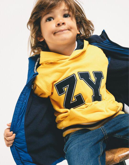 Chaleco Acolchado para Niño 'Smile', Azul