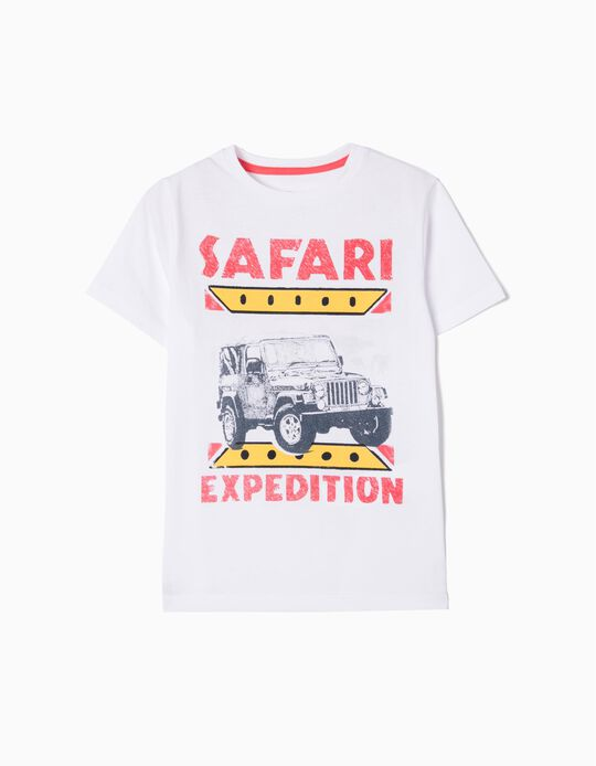 T-shirt Safari Expedition Anti-Mosquito