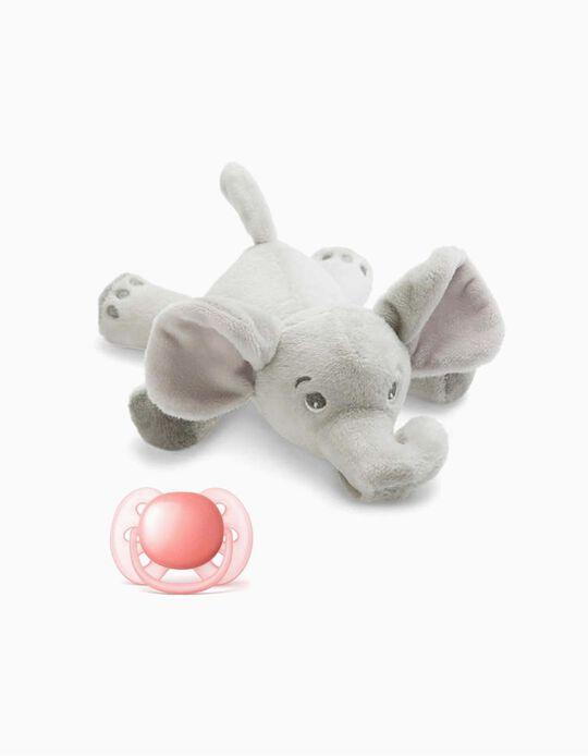 Chupeta Snuggle 0-6m+ Philips/Avent Pink