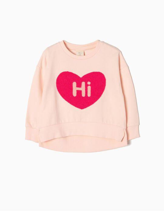 Sweatshirt Hi Heart