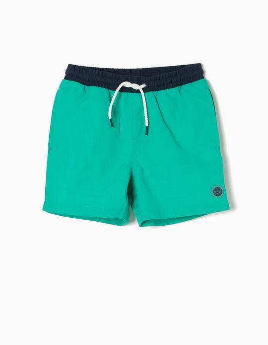 Bañador Short Verde