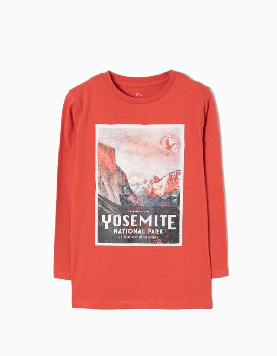 T-shirt Manga Comprida Yosemite