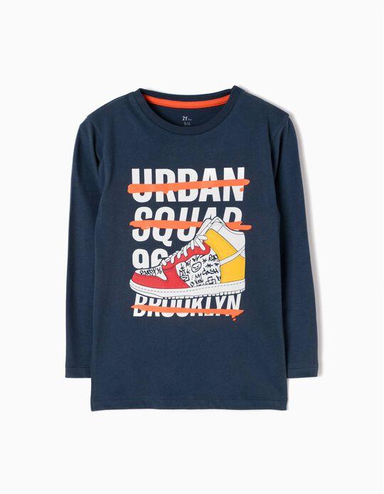 Camiseta de Manga Larga Urban Squad 96