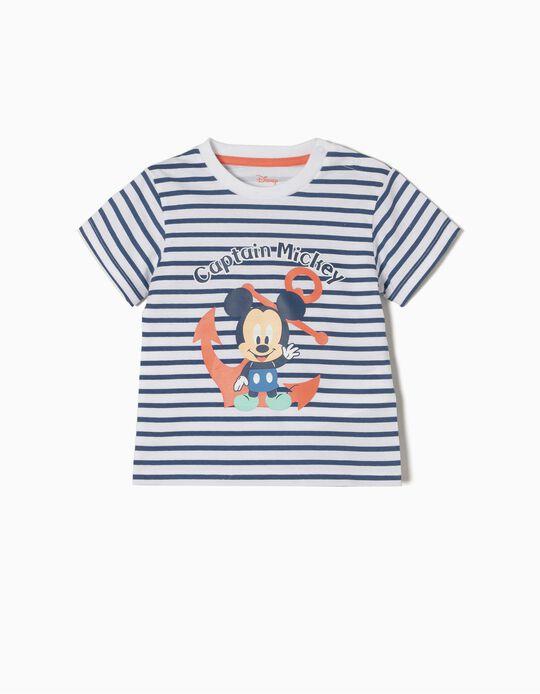 T-shirt Riscas Captain Mickey