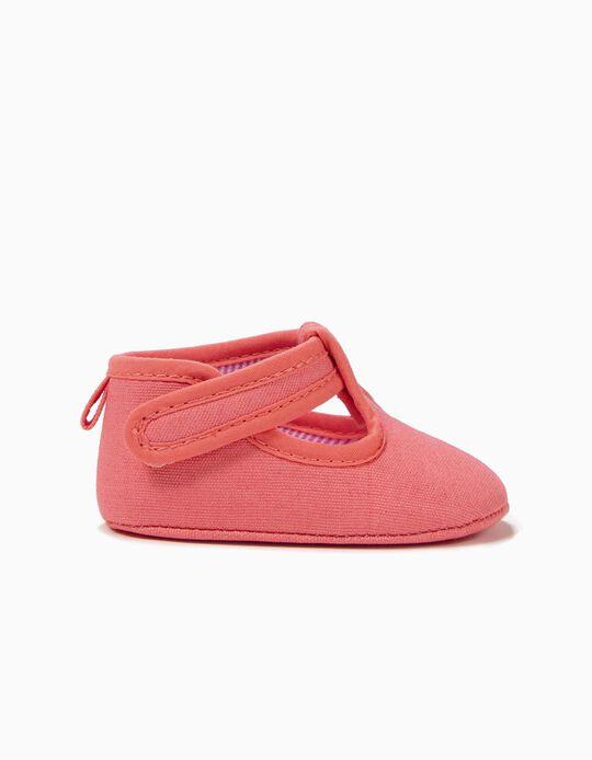 Zapatos para Recién Nacida, Rosa