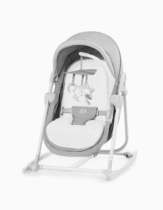 Baby Bouncer, Unimo Stone by Kinderkraft, Grey