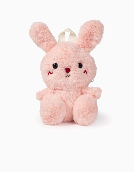 Mochila Peluche Infantil 'Bunny', Rosa