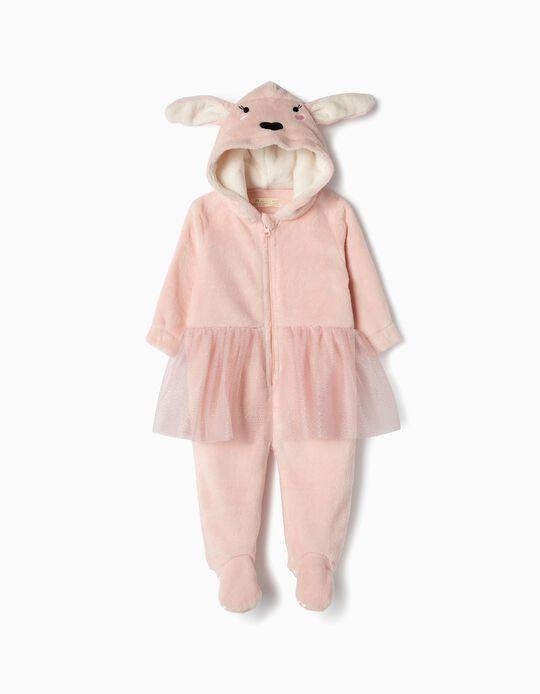 Pelele para Bebé Niña 'Bunny Ballerina', Rosa