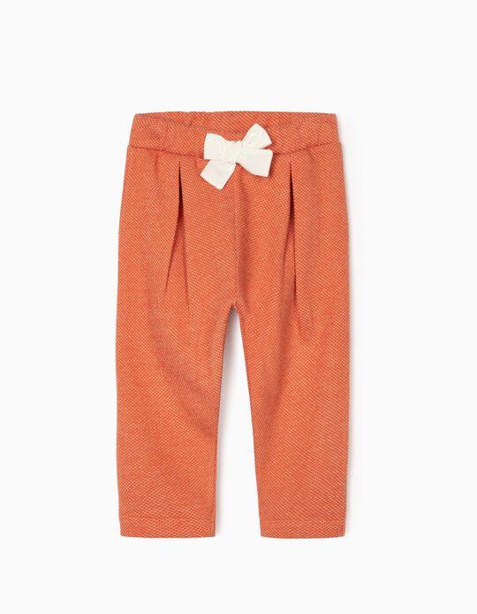 Pantalon Bébé Fille, Orange