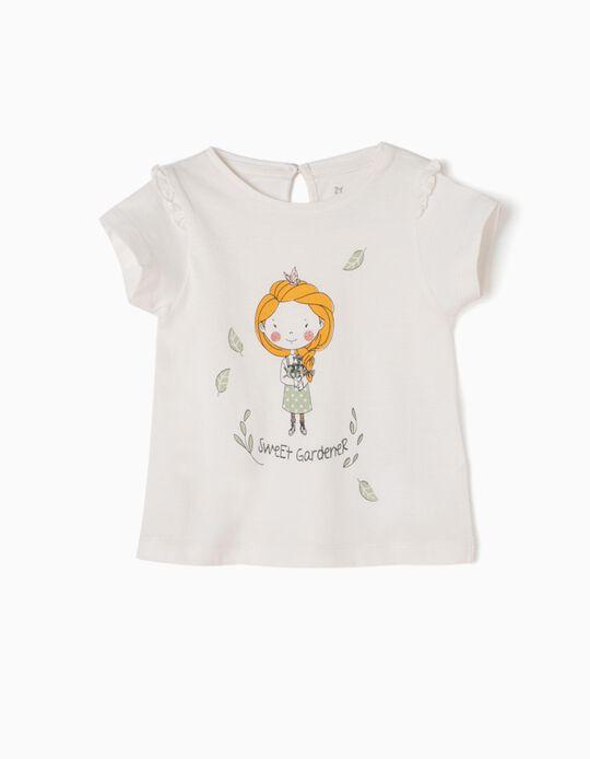 Camiseta Blanca Sweet Gardener