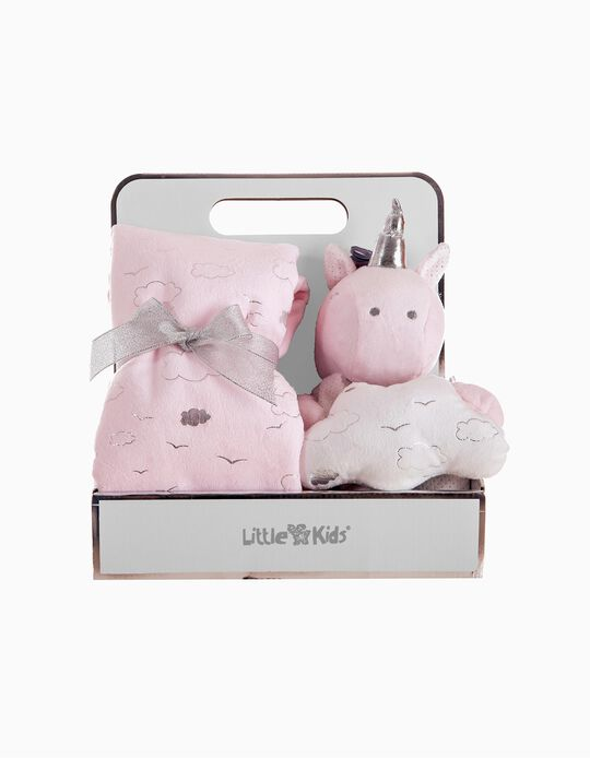 Conjunto Manta E Peluce Unicorn Sweet Little Kids