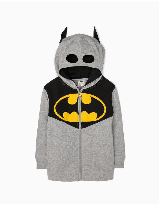 Casaco de Felpa com Capuz-Máscara Batman