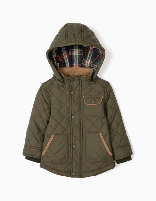 Padded Jacket for Baby Boys 'B&S', Green