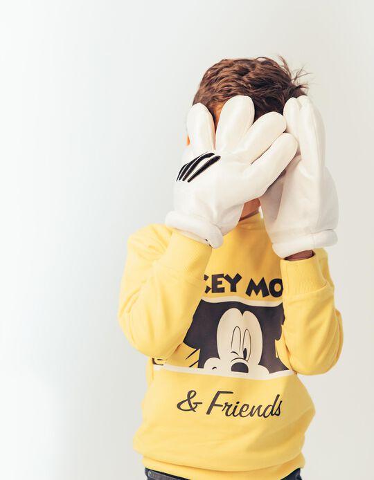 Chándal para Niño 'Mickey & Friends', Amarillo y Gris
