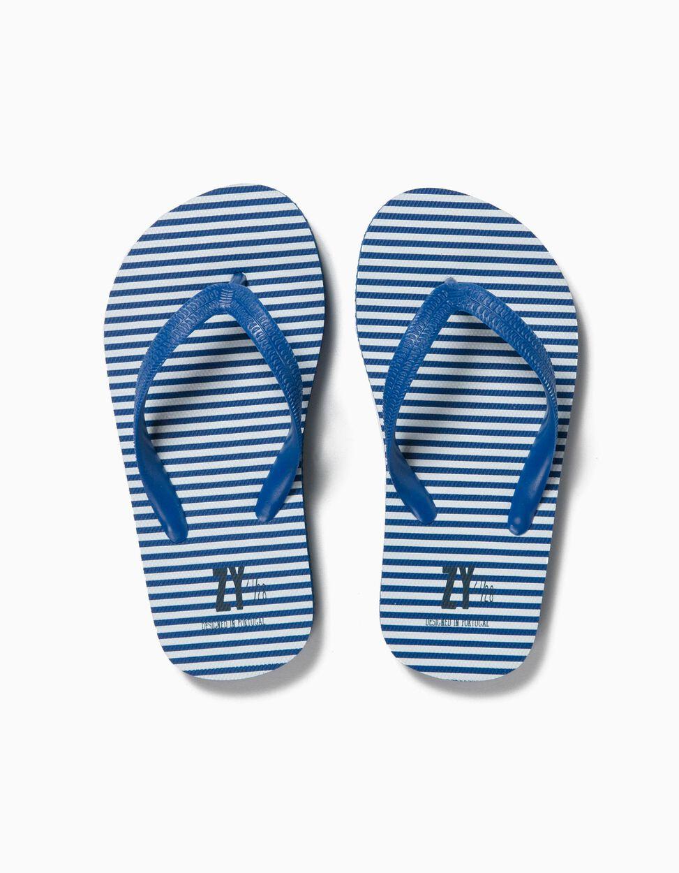 Sandalias de playa a Rayas BS