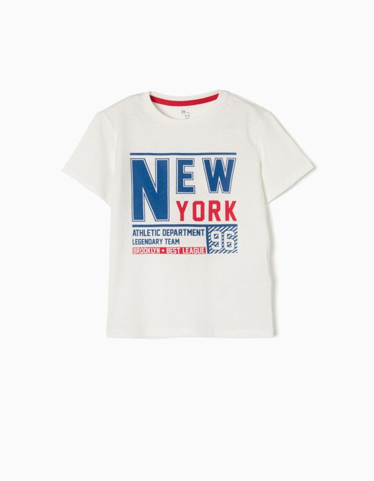 Camiseta New York 96 Blanca