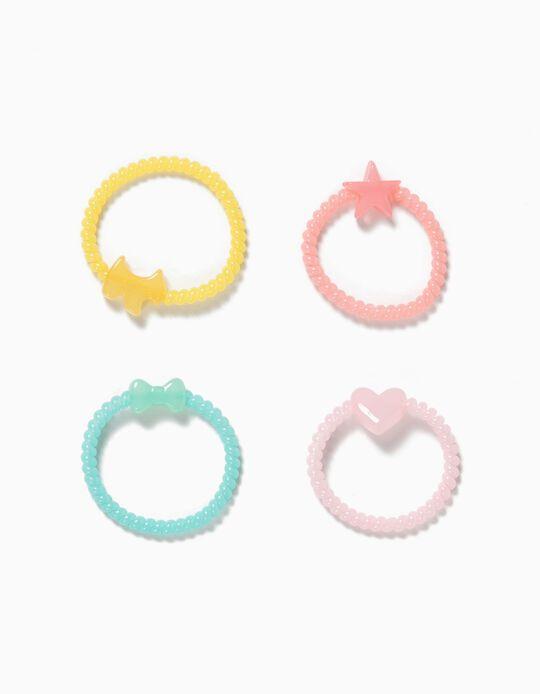 Pack 4 Elásticos Espiral