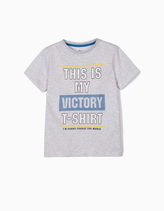 Camiseta para Niño 'Victory T-shirt', Gris