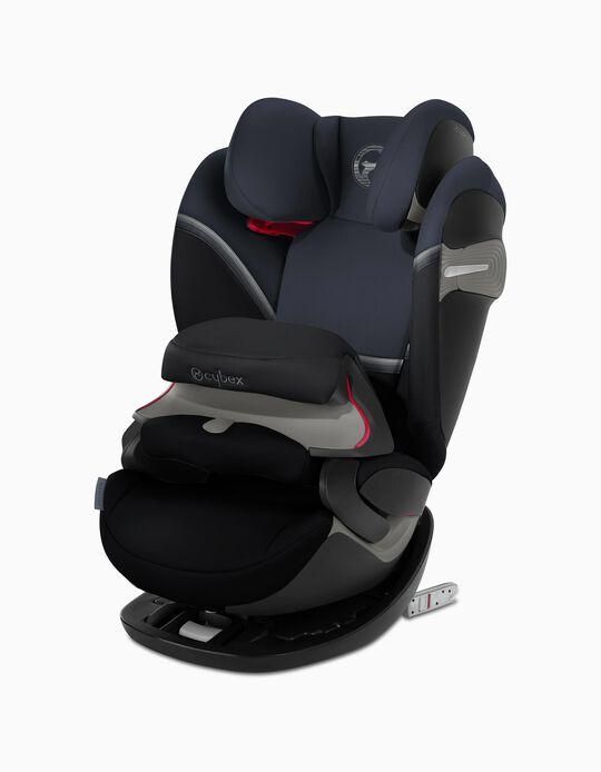Cadeira Auto Gr 1/2/3 Pallas S-Fix Cybex Granit Black