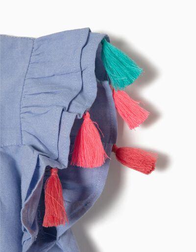 Vestido Ganga com Pompons