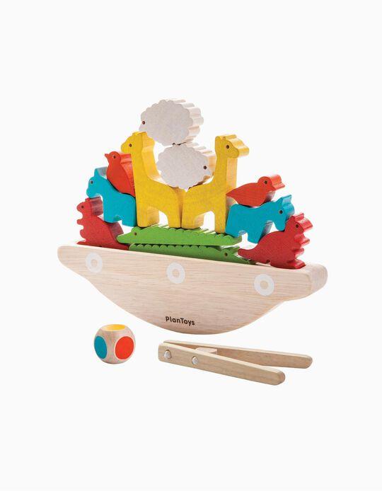 Jogo Do Equilibrio Plan Toys 3A+