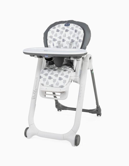 Cadeira Refeição Polly Progres5- 4W Chicco