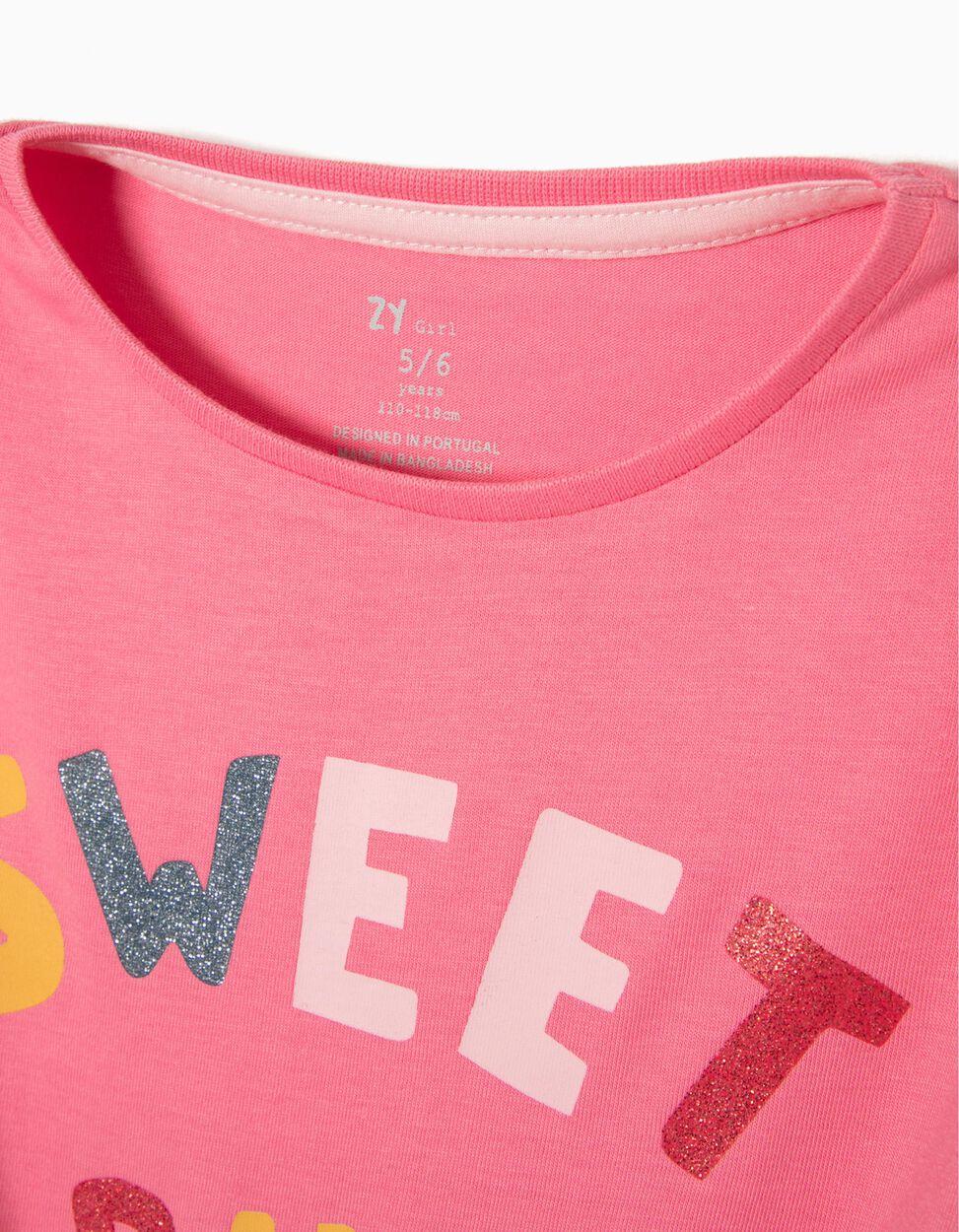 T-shirt Girls Branca