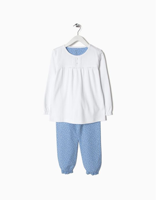 Pijama de Algodón y Popelina