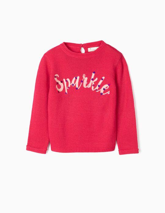 Jersey para Niña 'Sparkle', Rosa