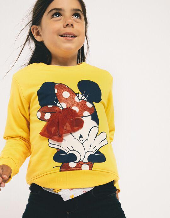 Sweatshirt para Menina 'Minnie', Amarelo