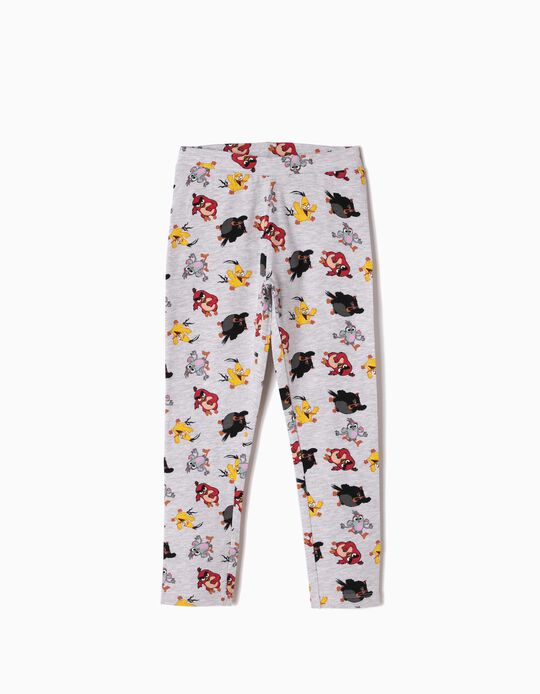 Leggings Grises Angry Birds