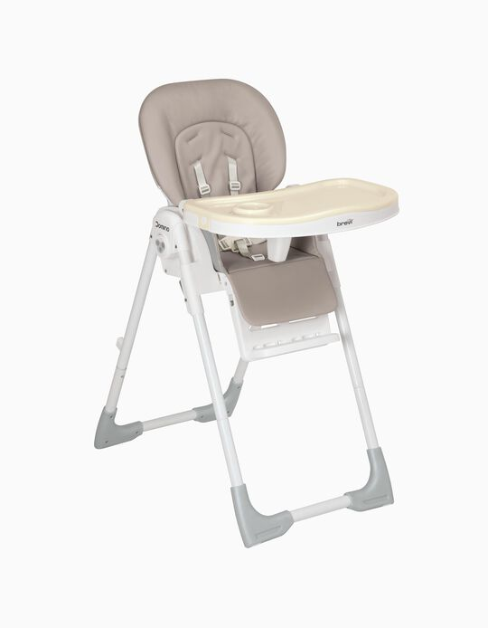 Cadeira Refeição Domino Brevi Bege