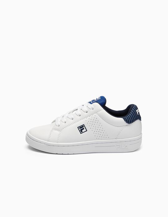 Baskets garçon 'FILA Crosscourt', blanc