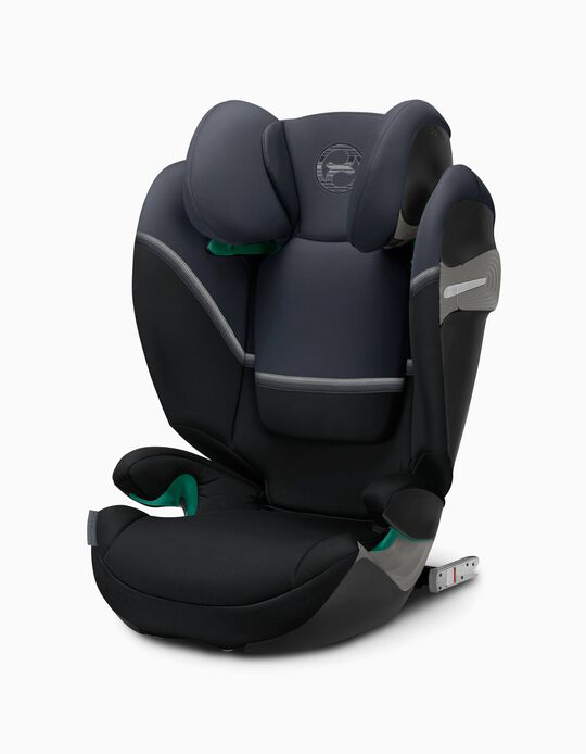 Car Seat Gr 2/3 Solution S-Fix Cybex Granit Black