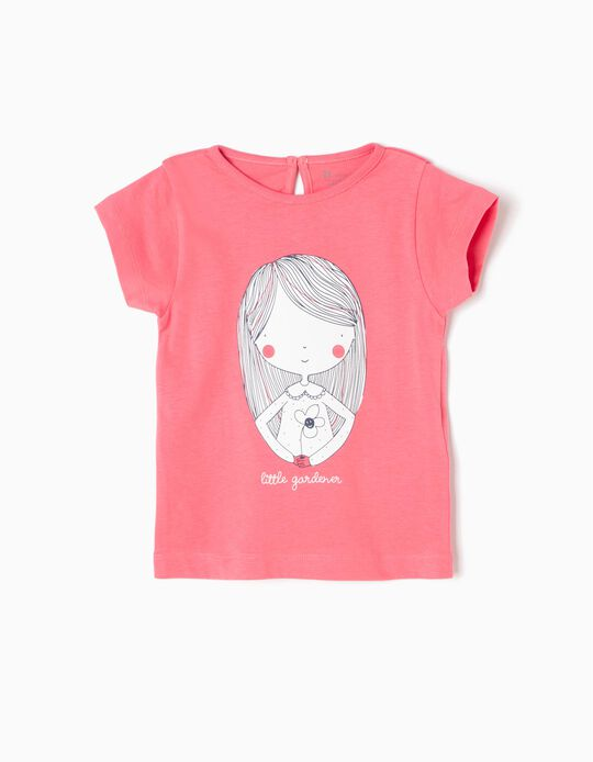 Camiseta Estampada Little Gardener