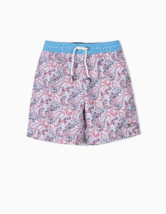 Bañador Short para Niño 'B&S' Antirrayos UV 80, Multicolor