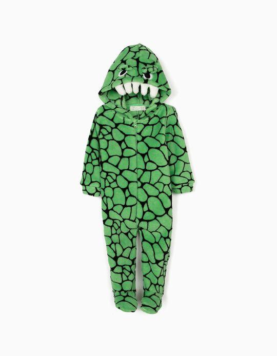 Pijama-Macacão para Bebé Menino 'Croc', Verde