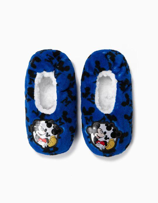 Zapatillas de Casa para Niño 'Mickey', Azul