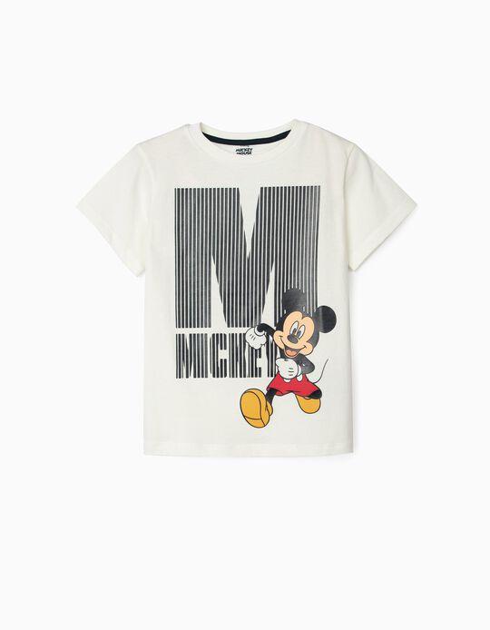 Camiseta para Niño 'Mickey', Blanca