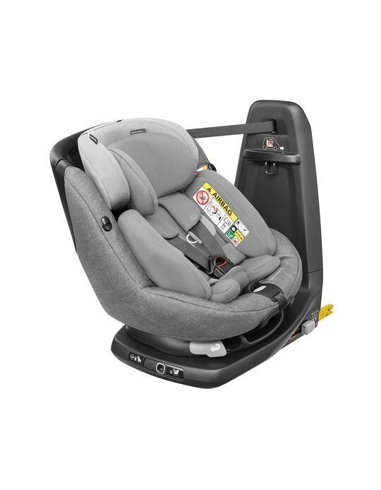 Cadeira Auto I-Size Axissfix Plus Bébé Confort Nomad Grey