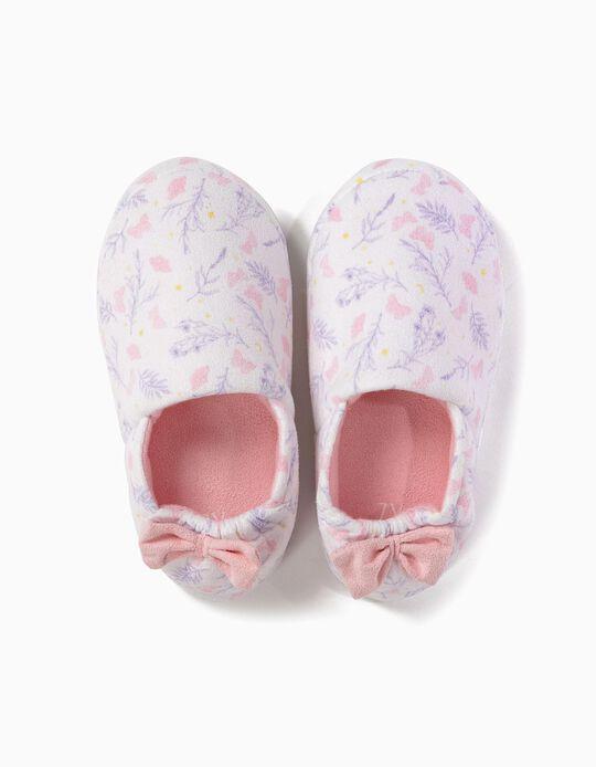 Zapatillas de Casa Mariposas y Lazo