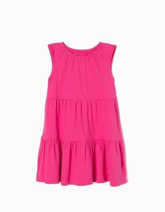 Vestido Color Rosa