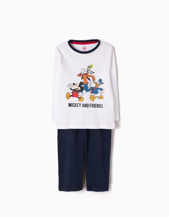 Pijama de Manga Larga y Pantalón Mickey & Friends