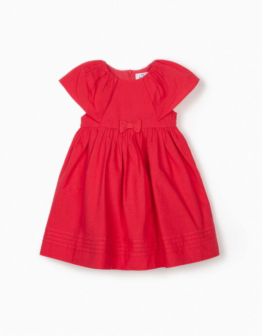 Dress for Baby Girls, Coral